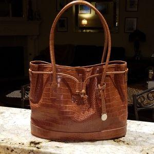 Mulberry Crocodile leather bag.